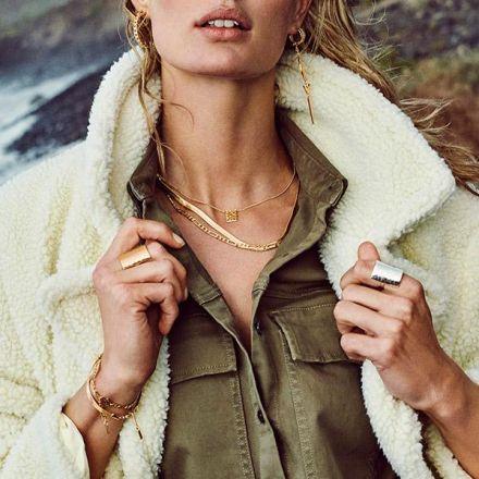 Pilgrim Yggdrasil Necklace Gold