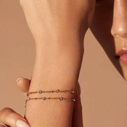 Rosefield Bracelet Swarovski Crystals